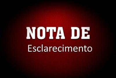 NOTA DE ESCLARECIMENTO – Câmara Municipal de Cruz Machado.