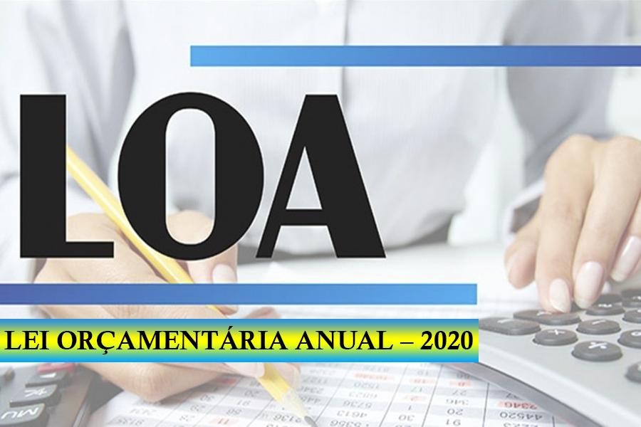 Orçamento 2020. Lei Orçamentária Anual entra em pauta na Câmara!