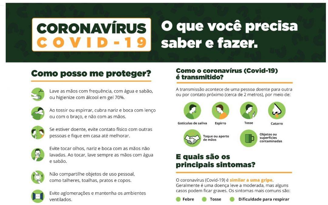 Confira as medidas adotadas para o enfrentamento da pandemia do coronavírus, no Estado do Paraná.