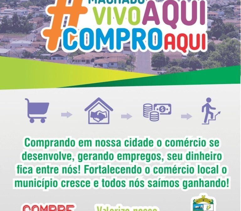 """Campanha """"Valorize o Comércio Local"""""""