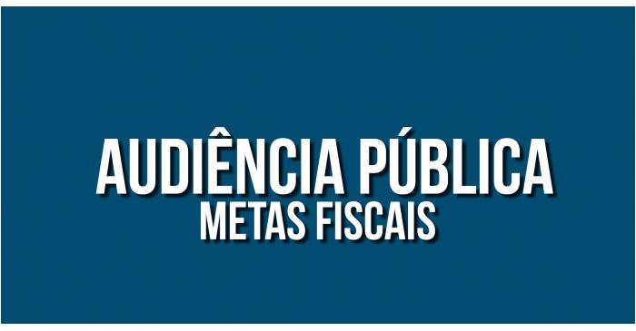 Convite para audiência pública online. Tema: Metas Fiscais 3º Quadrimeste de 2020, dia 24 de fevereiro as 17:30 horas. Participe!!