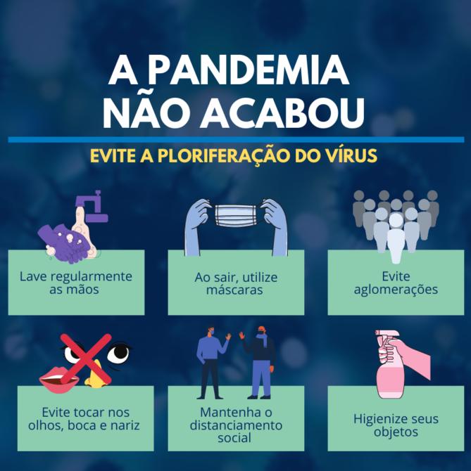 A pandemia vai passar, mas até lá, proteja-se e respeite o próximo.