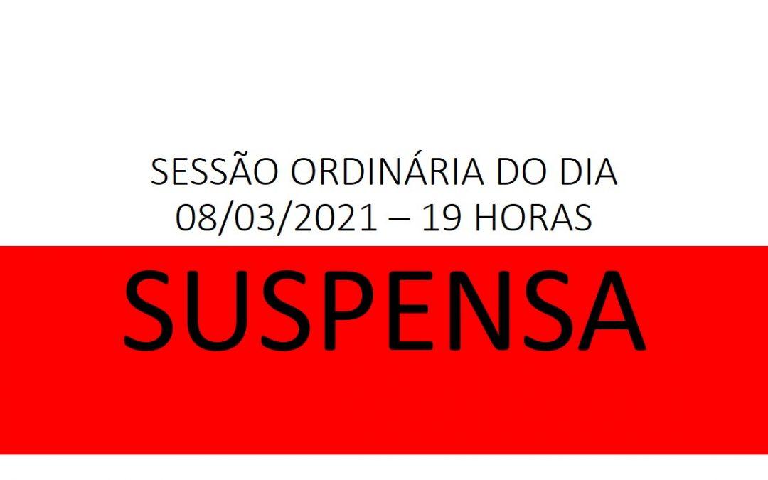 Câmara de Vereadores de Cruz Machado suspende a 6ª Sessão Ordinária do dia 08/03/2021, devido ao aumento de casos de Covid-19 no município.