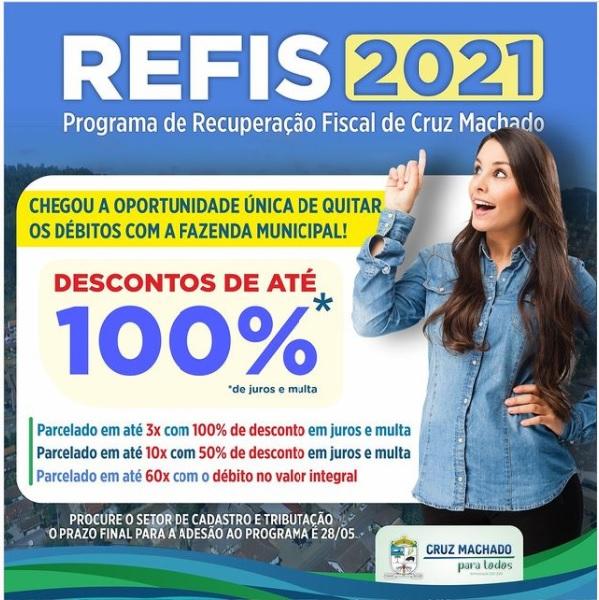 Aproveite: REFIS 2021